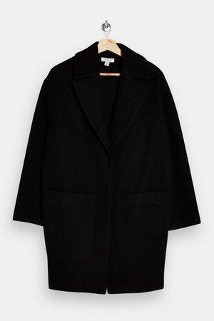 PETITE Black Classic Coat | Topshop