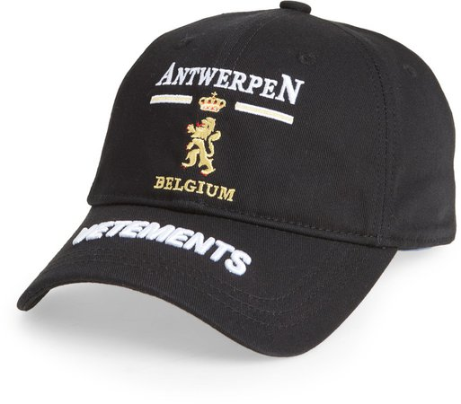 Antwerp Logo Baseball Cap