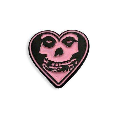 groovy lil misfits pin
