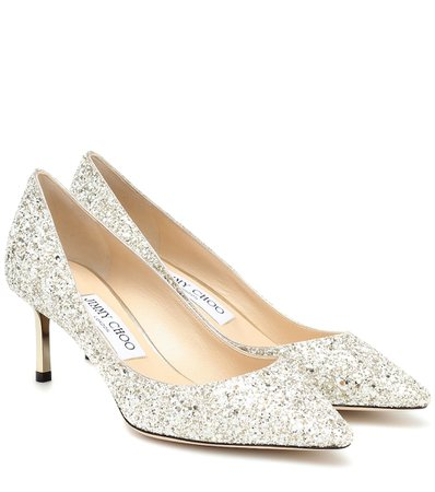 Pumps Romy 60 In Glitter | Jimmy Choo - Mytheresa
