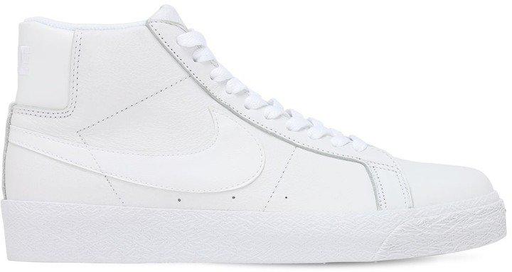 Sb Zoom Blazer Mid Top Sneakers