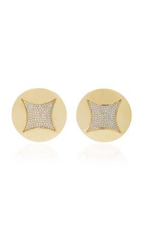 Ralph Masri Heliopolis Xl Domed Earrings