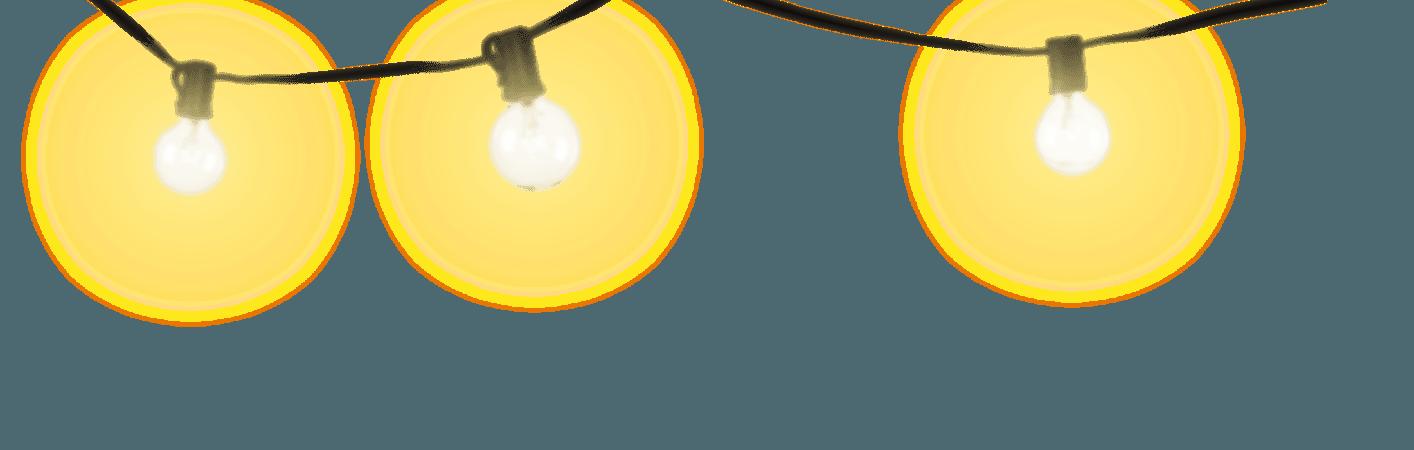 Xmas Lights PNG Background Image | PNG Mart