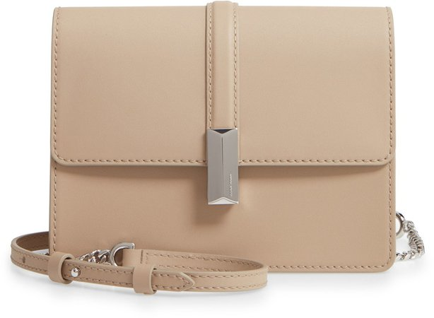 Nathalie Leather Crossbody Bag