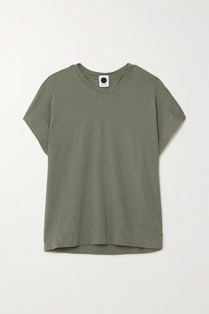 Bassike | + NET SUSTAIN T-Shirt aus Biobaumwoll-Jersey | NET-A-PORTER.COM