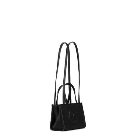 TELFAR SMALL SHOPPING BAG / BLACK