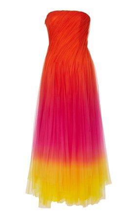 Ralph Lauren Clementine Ombre Tulle Dress