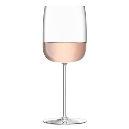 Rose Gold in Wine Glass