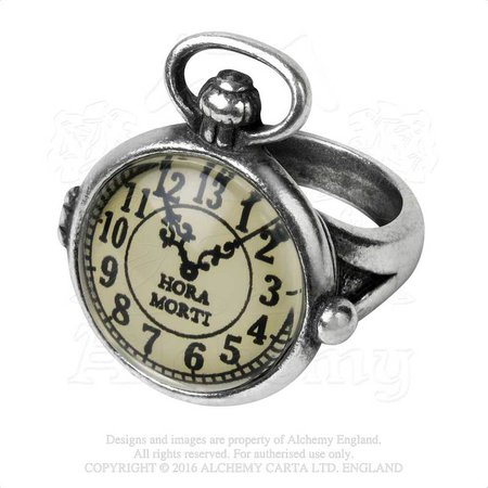 Uncle Albert's Time Piece Ring - Alchemy of England