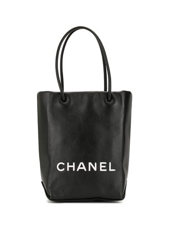 Chanel Pre-Owned 2009 Essential Pm Tote Vintage | Farfetch.com