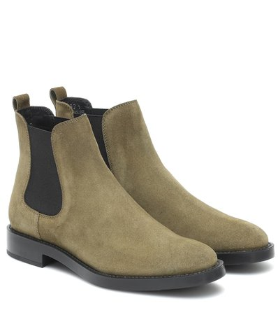 Suede Ankle Boots | Tod's - Mytheresa
