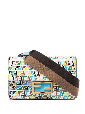 Shop Fendi FF Vertigo baguette mini bag with Express Delivery - FARFETCH