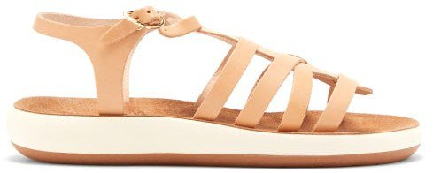 Aristi Leather Sandals - Tan