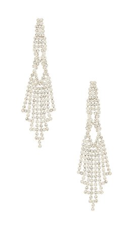 8 Other Reasons Chandelier Earring in Silver | REVOLVE
