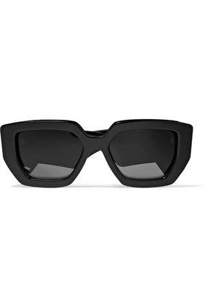 Gucci   Oversized square-frame acetate sunglasses   NET-A-PORTER.COM