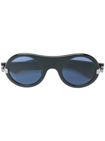 Calvin Klein 205W39nyc Round Frame Sunglasses - Farfetch