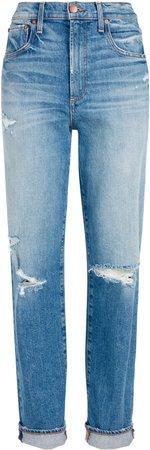 Katerina High Waist Baggy Jean