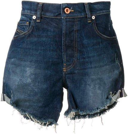 Turn-Up Midi Shorts