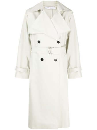 IRO double-breasted trench coat - FARFETCH