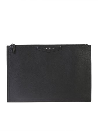 Givenchy Black Large Antigona Clutch