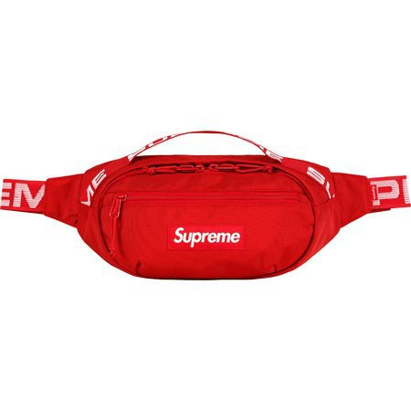 SUPREME WAIST BAG RED
