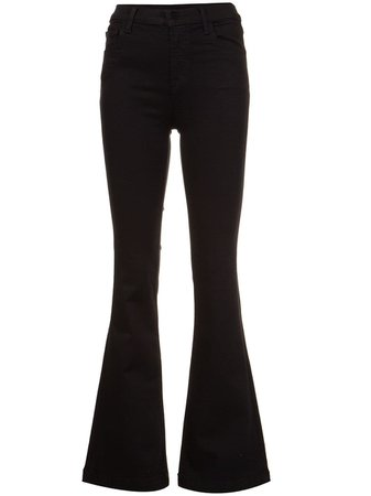 Black J Brand Bootcut Jeans | Farfetch.com