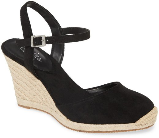 Wedge Espadrille Sandal
