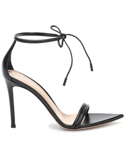Leather Sandals - Gianvito Rossi | Mytheresa