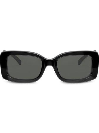 Versace Eyewear Solglasögon Med Rektangulära Bågar - Farfetch