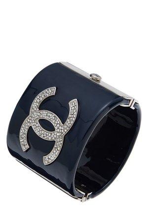 Navy Chanel cuff