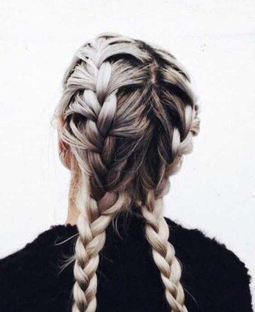 Dutch Braid Hair - Light