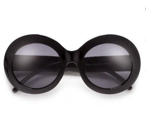 Jackie-O Black Widow Oversized Sunglasses