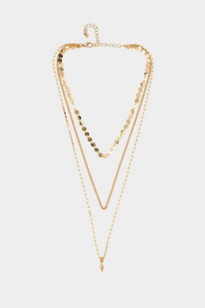 More or Less Layered Necklace | Nasty Gal