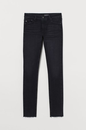 Shaping Low Jeans - Black