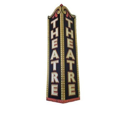 theater sign png filler black