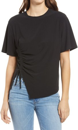 Ruched Side T-Shirt