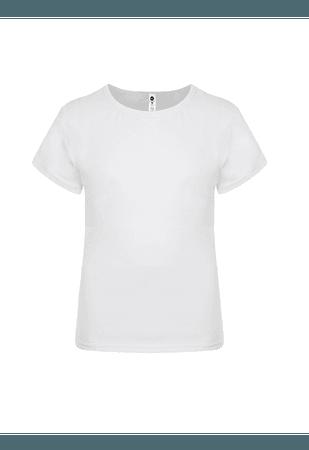 Made in Freedom Mens Basic White T-Shirt