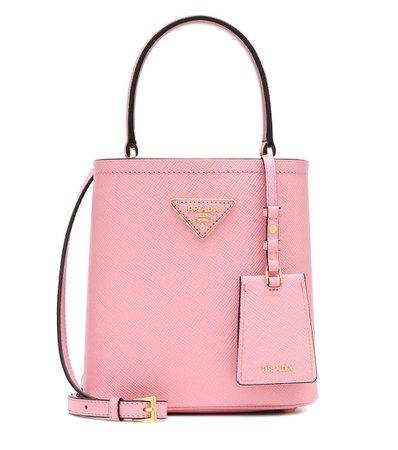 Panier Small Leather Shoulder Bag | Prada - Mytheresa