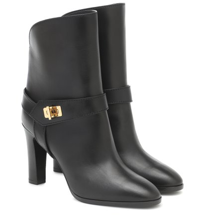 Givenchy - Eden leather ankle boots | Mytheresa