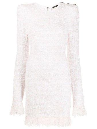 BALMAIN tweed mini dress