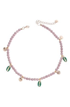 Nakamol Chicago Beaded Stone Necklace | Nordstrom