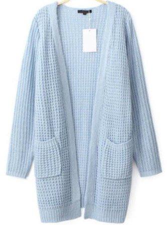 l6vmj1-l-610x610-cardigan-light+blue+cardigan-waffle+knit-long+line+cardigan-loose+fit+cardigan-open+cardigan-pocket+cardigan+sweater-pockets-www+ustrendy+com.jpg (451×610)