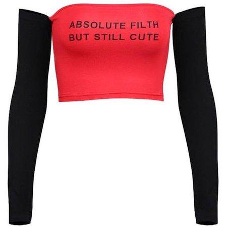 Absolute Filth Off Shoulder (