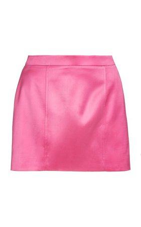 Tuscany Satin Mini Skirt by Gauge81 | Moda Operandi
