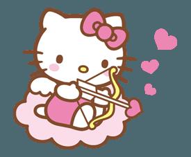 hello kitty cupid