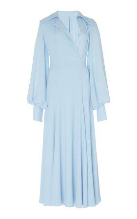 Gaynor Stretch-Cady Midi Dress by Emilia Wickstead   Moda Operandi