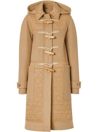 Burberry duffle-coat à Design Matelassé - Farfetch