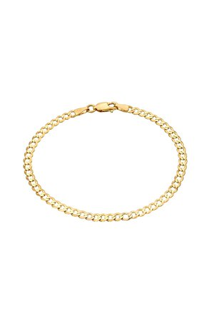 gold cuban link chain anklet - Google Search