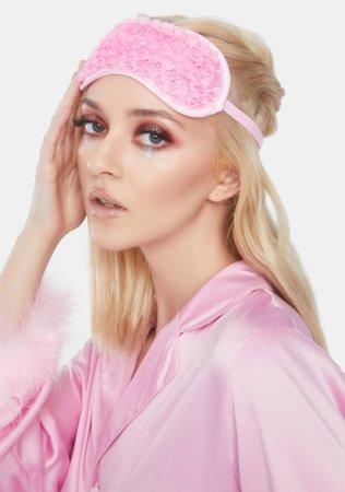 Rose Sleeping Mask - Pink | Dolls Kill
