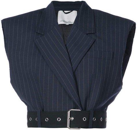 3.1 PHILLIP LIM cropped belted vest
